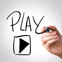 Play written on the Wipe board